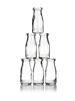 ACME Party Box Set of 6 Milk Bottles