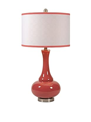 Essentials Glass Table Lamp, Melon Sorbet