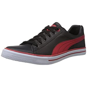 Puma Men's Black and Red Synthetic Sneakers (35570803) - 10UK/India (44.5EU)