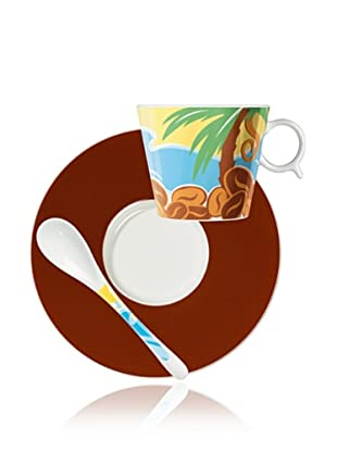 Ritzenhoff Grano Amado Kaffeetasse mit Untertasse und Löffel Design von Gernot Gunga2009