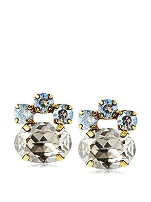 Tova Sparkling Opalized Crystal Earrings