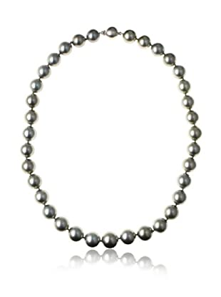 Radiance Pearl AAA Quality Silver Tahitian South Sea Pearl Necklace