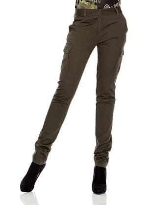 Desigual Pantalón Anxoa (Verde Jungla)