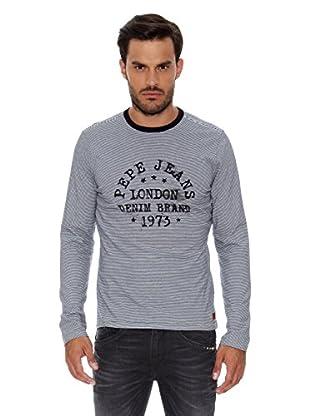 Pepe Jeans London Camiseta Manga Larga Dimitris (Gris)