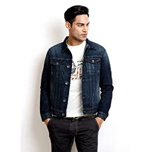 Pepe Jeans Men Blue Denim Jacket