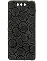 Shopaholic Stylish Black Cover For Xolo black