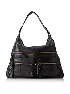 Kooba Alexander Pocket Hobo (Black)