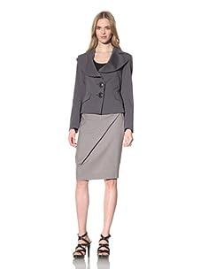 Vivienne Westwood Anglomania Women's Shawl Collar Jacket (Black)