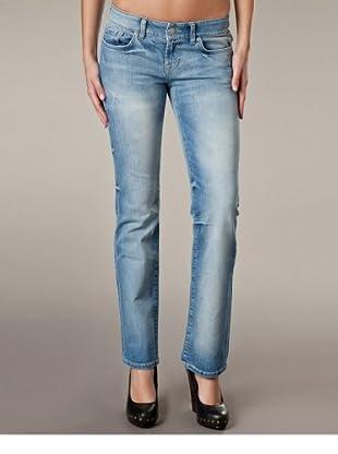 LTB Jeans Rosetta Regular Fit Straight Leg Regular Rise (Hellblau/Grau)