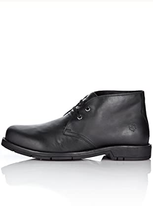 Lumberjack Zapatos Abotinados Carson (Negro)