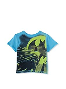 Kid's Republic Boy's Transform Batman T-Shirt (Total Blue)