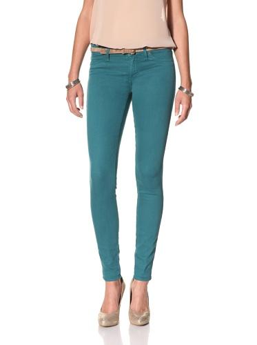 Rich & Skinny Women's Skinny Jean (Peacock)