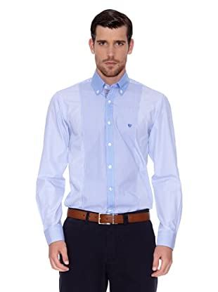 Caramelo Camisa Luc (Azul)