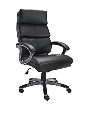 LexMod Stellar High Back Office Chair, Black