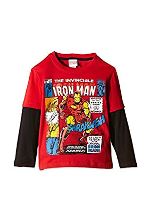 Marvel Camiseta Manga Larga Invincible