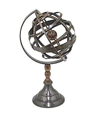 Three Hands Brass Globe, Copper