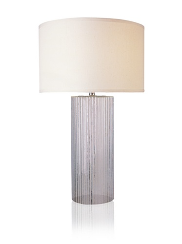 Trend Lighting Oceana Table Lamp, Clear Blue