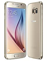 Samsung Galaxy S6 SM-G920F Factory Unlocked Cellphone, International Version, 32GB, Gold