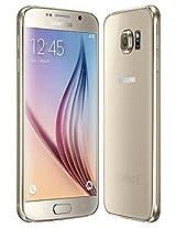 Samsung Galaxy S6 SM-G920F Factory Unlocked Cellphone, International Version, 32GB, Gold