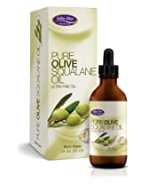 Life-Flo Pure Olive Squalane Oil, 2 Ounce