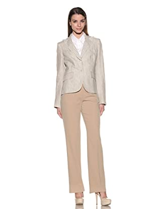 Loro Piana Women's Rodeo Drive Parker Jacket (Sand/White)