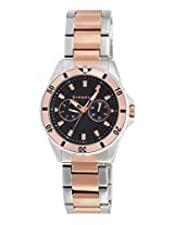 Giordano Analog Black Dial Men's Watch - GX1665-66