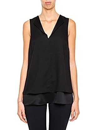 Michael Kors Top Draped Open Neckline