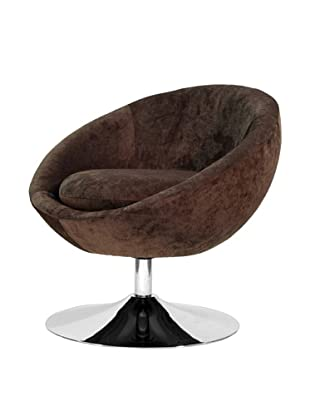 Overman International Disc Base Astro Chair, Brown