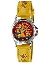 Disney Analog Multi-Color Dial Boys's Watch - 3K0906U-LK  (YELLOW)