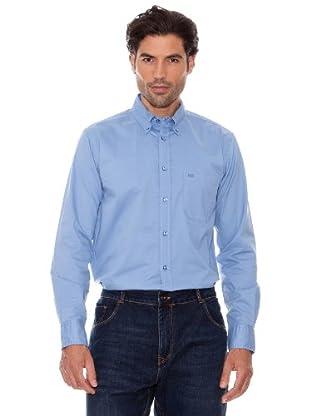 Pedro Del Hierro Camisa Lisa (Azul)
