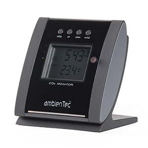 【クリックで詳細表示】ambienTec CO2 MONITOR SC002P1 アンビエンテック CO2モニター [二酸化炭素濃度計]