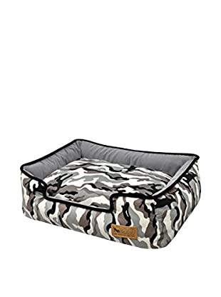 P.L.A.Y. Lounge Dog Bed (White Camouflage)
