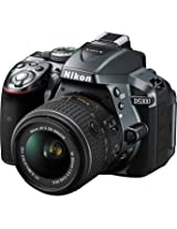 NikonD5300 DSLR Camera with 18-55mm Lens (Gray)