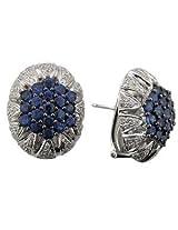 Bling Gold & Diamond Earrings - BGE123