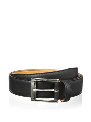 Leone Braconi Men's Sauvage Bullskin Belt (Black)