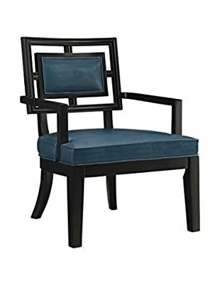 Coast to Coast Accent Chair, Teal Blue
