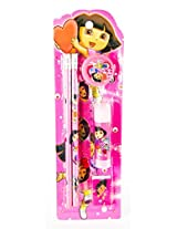 Dora Stationery Set Pencil And Geometry Set
