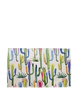 Surdic Teppich Watercolor Cactus