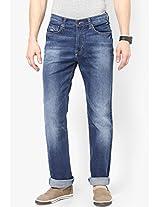 Blue Regular Fit Jeans Pepe Jeans
