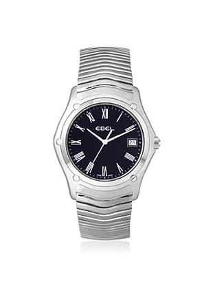 Ebel Men's 1215274 Classic Black Stainless Steel Watch
