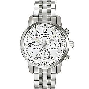 Tissot PRC 200 Men's Silver Chronograph Quartz Sport Watch