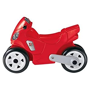 Step2 Motorcycle En Version, Red