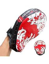 Hand Target MMA Boxing Mitt Focus Punch Pad Training Glove Karate Muay Thai Kick