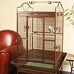 Petco Designer Mink Brown Standing Parrot Cage