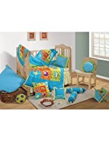 Swayam Cotton Crib Set - 11 Pcs BCSAero1003