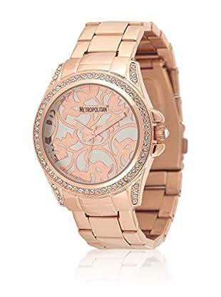 Metropolitan Reloj de cuarzo  Rosado 39 mm