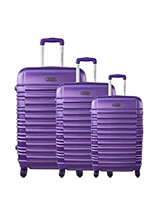 ZIFEL Set 3 Trolley Rigido Mixte