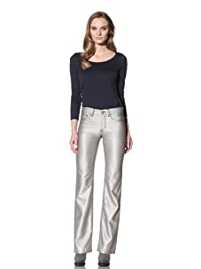 Loro Piana Women's Silk Pant (Grey)