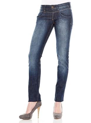 Calvin Klein Jeans Vaquero 5 Bolsillos Stretch (Azul Oscuro)