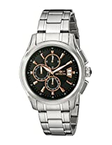 Invicta Men's 1483 Specialty Collection Chronograph Black Dial Watch